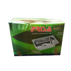 Prisa Polished Stainless Steel Kitchen Sink