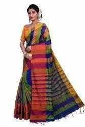 Handloom Check Mahapar Sarees