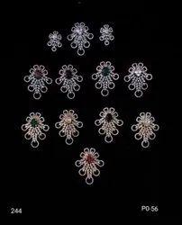 Antique Pearl Pendant Set