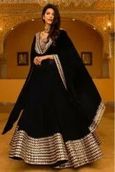 Black Wedding Traditional Gown