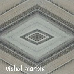 Indian Marble Flooring Marble Designer Tiles, Thickness: 16 mm