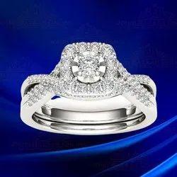 White Gold Ring In Delhi सफ द स न