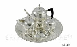 Pure Silver Tea Set