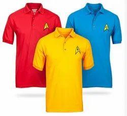 Casual Polo Neck T - Shirt