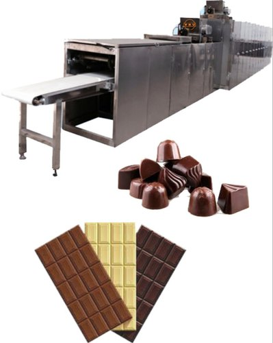 VRU Stainless Steel Automatic Chocolate Moulding Machine, Capacity: 250  Moulds, Rs 3250000 /number   ID: 15026645730