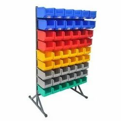 25 Single Sided Bin Stand