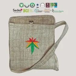 Natural Recycle Organic Cotton Hemp Bag