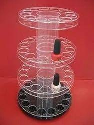 Acrylic Rotating Nail Paint Display Stand