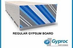 6 White Gyproc Gypsum Board, Thickness: 12.5