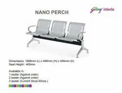 3 Seater Nano Perch Waiting Chair