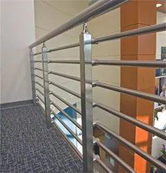 Stainless Steel Balcony Railings, For Residential, Material Grade: SS304