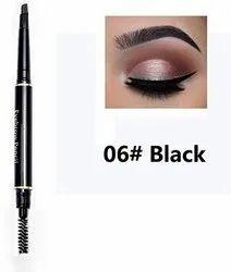 Black Waterproof Eyebrow Pencil