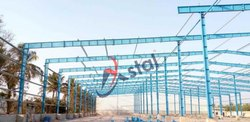 Steel Prefab Multi-Span Pre Engineered Industrial Structure