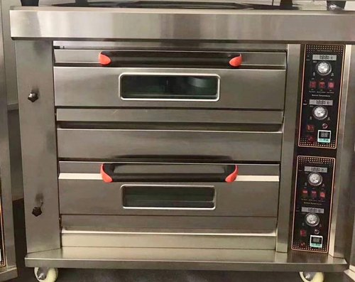 Gas Baking Oven 2 Deck 4 Tray