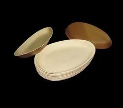 Eco Friendly Plain Areca Leaf Plates