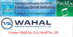 ANUTECH International Foodtech India 2019