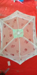 6 Ribs Printed Umbrella Baby Mosquito Net