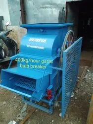 DODIYA Mild Steel Almond Crusher Machine, Capacity: 400 Kg Hour