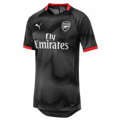 Puma Mens Arsenal FC Graphic Jersey Black T-shirts, | ID ...