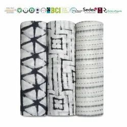 Bamboo Cotton Muslin Wraps
