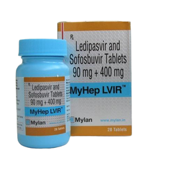 Myhep Lvir Infection Tablet, 28 tab/bottle