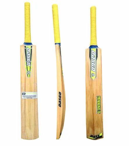 Dasgo Polish Market Cricket Bat For Tennis Ball Heaavy Rubber Ball