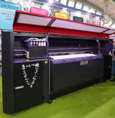 Digital Sublimation Textile Printing Machine - UN- 5193E