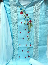 Deepsy Designer Pakistani Lawn Suit, Size: Free