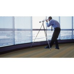 Printed Flotex Text Vision Carpet Flooring Sheet for Hotel