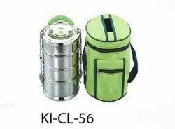 Stainless Steel Tiffin With Bag
