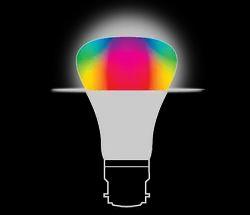 Plastic Round LED Bulb (Million Colours)