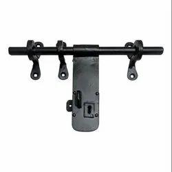 12inch Jaazaniah Black Antique Iron Aldrop with Key Lock Function