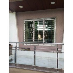 Stainless Steel Railing, For Home, Material Grade: SS304
