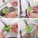 Plastic Shower Bathroom Face Cartoon Tap Water Saving Faucet Sprinkle Head Nozzle