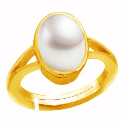 Moti Stone Ring Asthdhatu Gemstone
