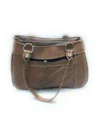 Shoulder Bag Printed Genuine Leather Ladies Bags