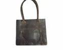 Buffalo Leather Designer Tote Bag