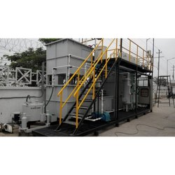 Membrane Bioreactor, MBBR Automatic Packed Sewage Treatment Plant, Capacity: 10kld-500kld