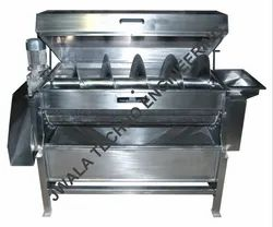 Potato Peeling And Washing System
