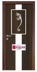 Wood Digital Lamination Door, Thickness: 30 mm