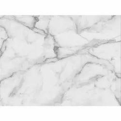 Polished Finish White Marble, Slab & tile, Thickness: 10-15 mm