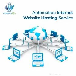 Automation Internet Website Hosting Service, With Chat Support