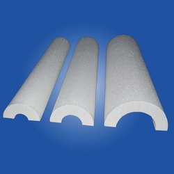 India White EPS Pipe Section, Size: 1 inch, for Packaging