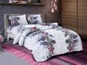 Floral Printed Bed Sheet for Double Bed