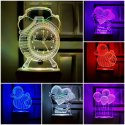 Led Acrylic & Abs 3d Night Lamp