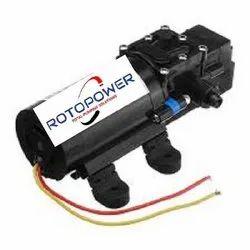 Rotopower DC Pressure Pump, Max Flow Rate: 4 Lpm