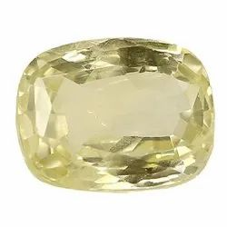 Light Yellow Natural Ceylon Yellow Sapphire