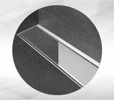 Marble Insert Shower  Drain Channel LEDL Drainage Technology