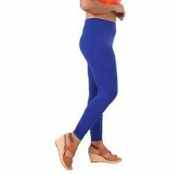 Royal Blue Lycra Churidar Leggings