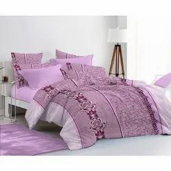 Townhouse king Printed Cotton Double Bed Sheet
